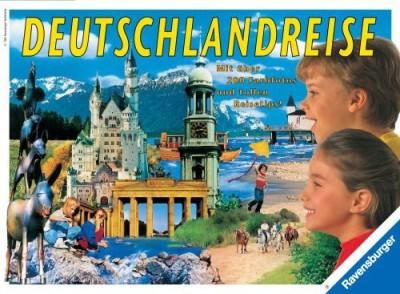 Ravensburger Deutschlandreise (Journey Through Germany/Voyage Board Game