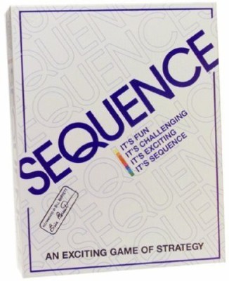 Jax Sequence Game Board Game