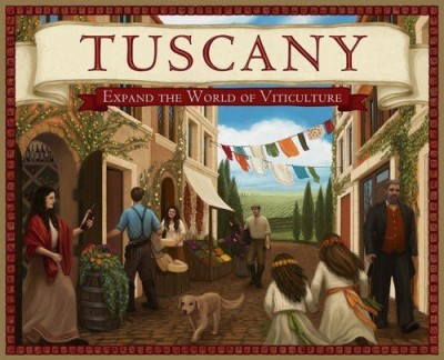 Stonemaier Games Tuscany Expand The World Of Viticulture Board Game