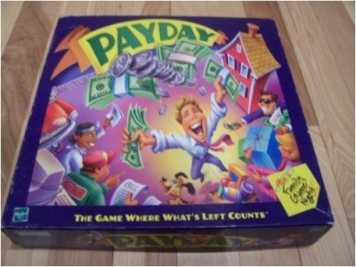PayDay Parker Brothers 2000 Edition Board Game