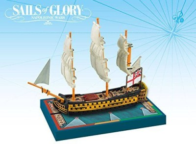 Ares Games Sails Of Glory Ship Pack Hms Queen Charlotte 1790 Board Game