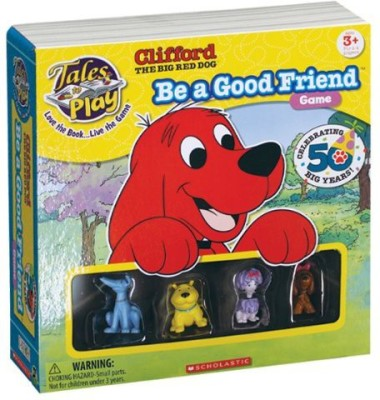 Patch Products Inc. Patch Products Tales To Play Clifford Board Game