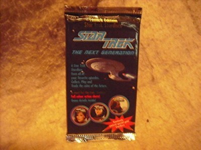 Star Trek 1994 Stardisc Coins Pack The Next Generation Pack Of 6 Board Game