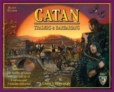Mayfair Games Catan Traders & Barbarians Expansion 4Th Edition Board Game