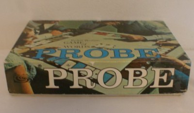 Parker Brothers Probe Of Words (1964 Edition) Board Game