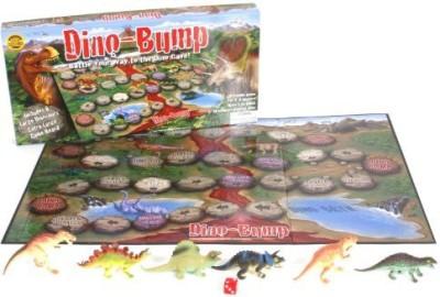 LuvyDuvy Dino Bump Board Game