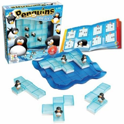 SmartGames Penguins On Ice Board Game