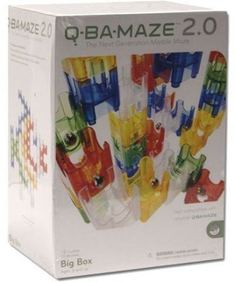 MindWare Qbamaze 20 Big Box Construction Set 92 Pieces Board Game