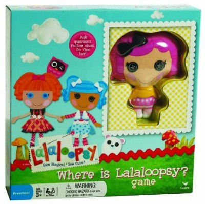 Cardinal Where Is Lalaloopsy Board Game