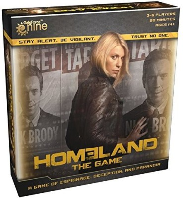 Gale Force 9 Homeland The Board Game