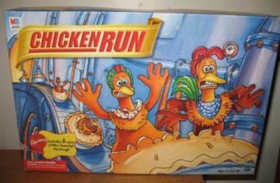 Milton Bradley Chicken Run The Chicken Pot Pie Board Game