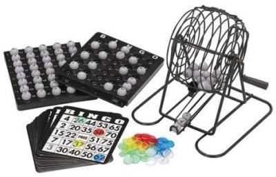 HE Retail Bingo Club Tambola Cage Set Board Game