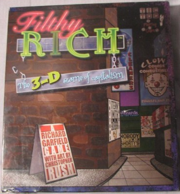 filthy rich The 3D Of Capitalism Board Game