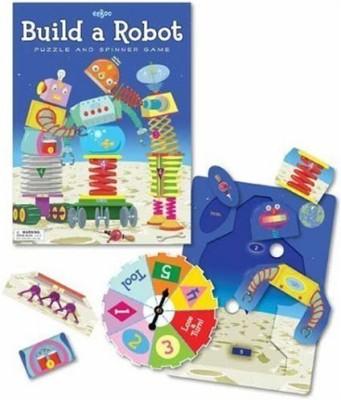 eeBoo Build A Robot Board Game