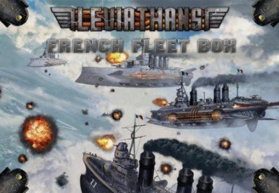 Catalyst Game Labs Leviathans French Fleet Box Board Game