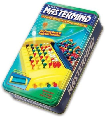 Pressman Toy Travel Mastermind Tin Board Game
