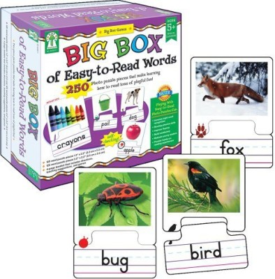 Key Education Big Box Of Easytoread Words Educational Board Game