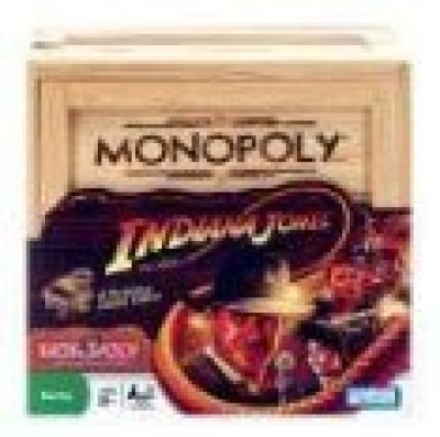 Hasbro Monopoly Indiana Jones Edition Board Game