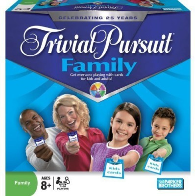 Hasbro S Trivial Pursuit Family Edition Board Game