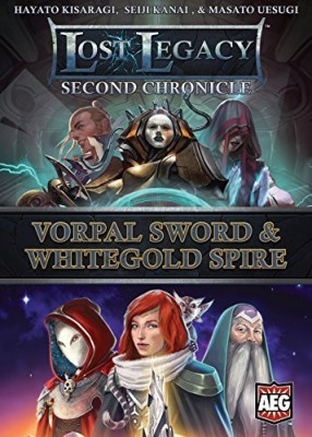 AEG Lost Legacy Second Chronicle Vorpal Sword And White Gold Board Game