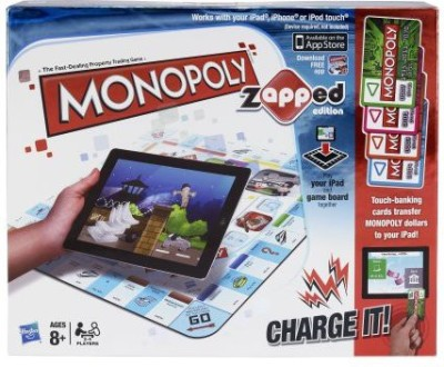 Hasbro Monopoly Brand Game Zapped Edition Board Game