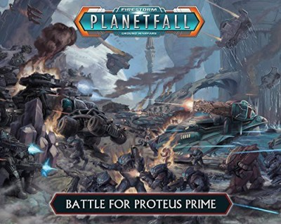 Spartan Games Planetfall Battle For Proteus Prime Two Player Battle Box Board Game
