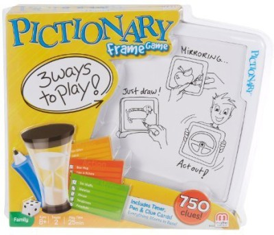Mattel Pictionary Frame Board Game