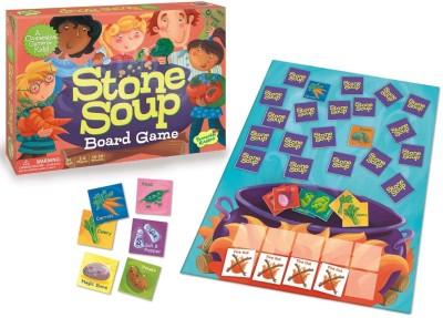 Peaceable Kingdom Stone Soup Board Game