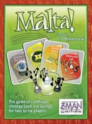 Z-Man Games Z Manmalta Board Game