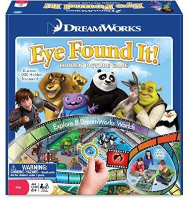 Wonder Forge Dreamworks Eye Found It Board Game