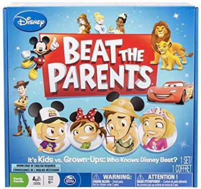 Spin Master Games Disney Beat The Parents Board Game