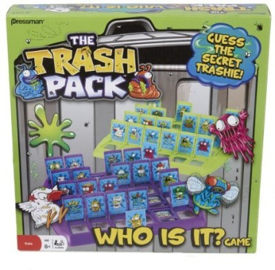 Pressman Toy The Trash Pack Who Is It? Board Game