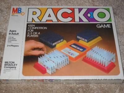 Racko Vintage Milton Bradley 1980 Board Game