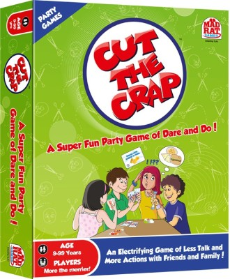 MadRat Games Cut the Crap Board Game