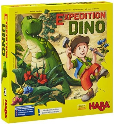 HABA Expedition Dino Board Game