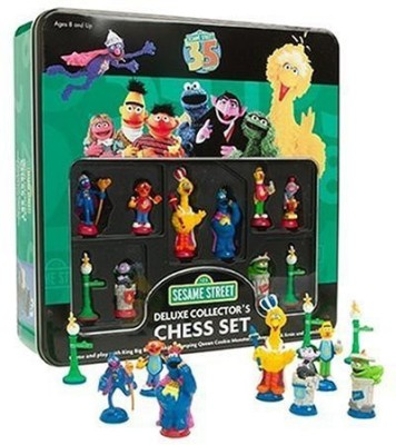 Sababa Toys Sesame Street Deluxe Chess Board Game