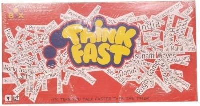 Toysbox Think Fast Board Game