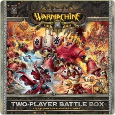 Privateer Press Warmachine Two Player Battle Box Board Game