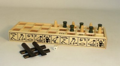 Play All Day Games Senet Board Game