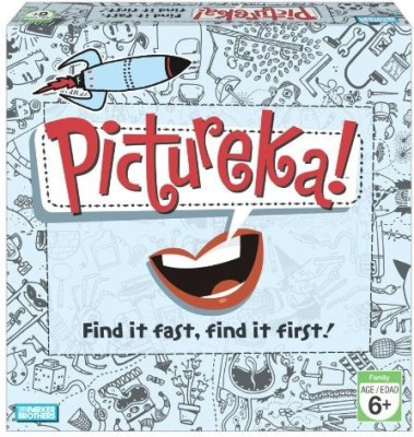Parker Brothers Pictureka Board Game