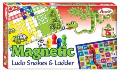 Lotus Annie Magnetic Ludo Snakes & Ladders Board Game