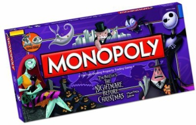 USAopoly Monopoly The Nightmare Before Christmas Collector,S Edition Board Game