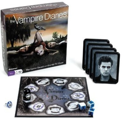 Pressman Toy Vampire Diaries Board Game