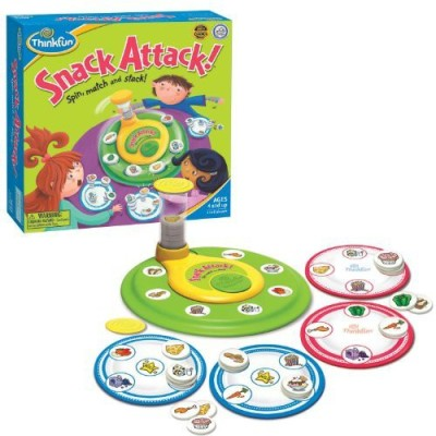 ThinkFun Jr Thinkfun Snack Attack Board Game