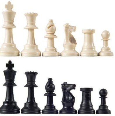 Marion Staunton Tournament Chess Piecestriple Weighted With 375