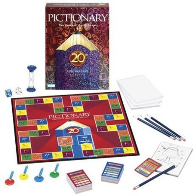Parker Brothers pictionary Board Game