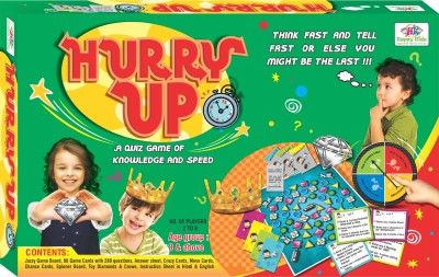 Happy Kidz Hurry Up Board Game