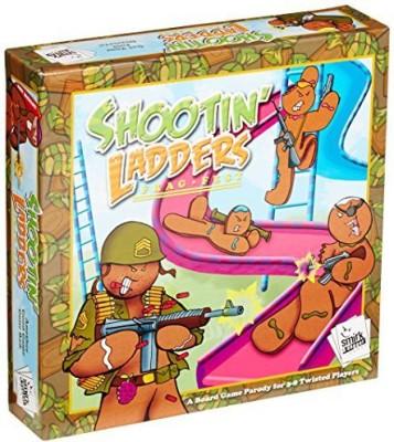 Smirk & Dagger Shootin, Ladders Frag Fest Board Game