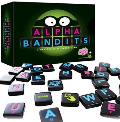 Wiggity Bang Games Alpha Bandits A Devious Little Word Board Game