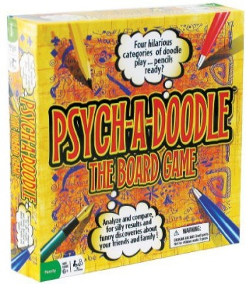 Psychadoodle psych a doodle Board Game